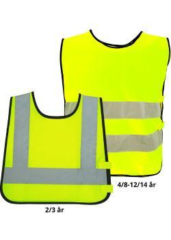 Refleksvest til barn farge Safety Gul